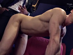 Hot gay rough sex with cumshot