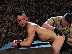 Hot Military Fetish With Cumshot