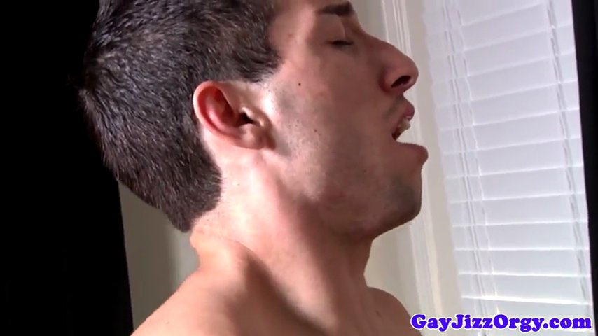 Bukkake loving jocks play strippoker
