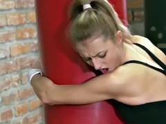 Teens Deepthroating In The Gym